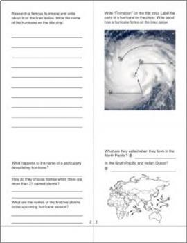 Natural Disasters BUNDLE #1 -- Volcanoes, Earthquakes, Tornadoes, & Hurricanes