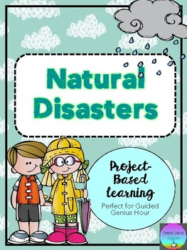 Natural Disasters Brochure (Guided Genius Hour Project)