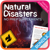 Natural Disasters Bundle