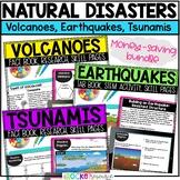 Earthquakes, Volcanoes, and Tsunamis Natural Disasters Bundle
