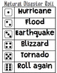 Natural Disasters: Dice Roll