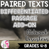 Natural Disasters Differentiated ADD-ON for Grades 4-8