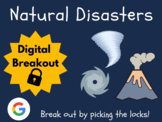 Natural Disasters - Digital Breakout (Distance Learning, G