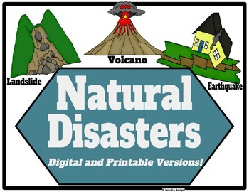 Natural Disasters: Digital and Printable Versions