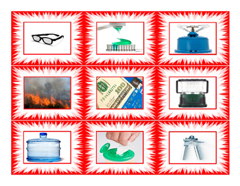 Natural Disasters & Emergency Preparedness Cards