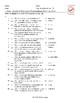 Natural Disasters-Emergency Preparedness Matching Exam