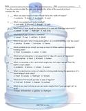 Natural Disasters-Emergency Preparedness Multiple Choice Worksheet
