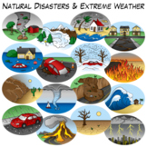 Natural Disasters & Extreme Weather Clip Art