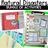 Natural Disasters Extreme Weather Activity Bundle