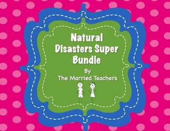 Natural Disasters Interactive Foldables Super Bundle