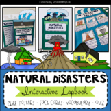 Natural Disasters Interactive Lapbook and Mini-Unit