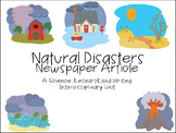 Natural Disasters Interdisciplinary Unit