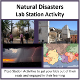 Natural Disasters - Lab Station Activity