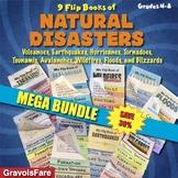 Natural Disasters MEGA BUNDLE – 8 Foldable Flip Books (Save 30%)