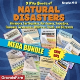 Natural Disasters MEGA BUNDLE – 9 Foldable Flip Books (Save 30%)