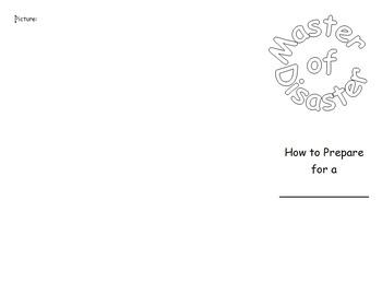 Natural Disasters: Master of Disaster Brochure