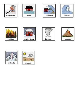 Natural Disasters Matching
