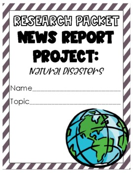 Natural Disasters News Report Project