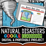 Natural Disasters Project - Printable & Digital for Scienc