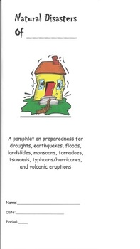 Natural Disasters Pamphlet