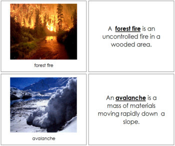 Natural Disasters: Photo Book