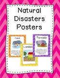 Natural Disasters Posters