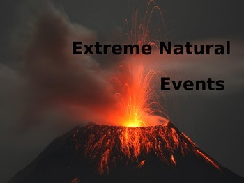 Natural Disasters PowerPoint