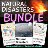 Natural Disasters Project Bundle - PBL STEM