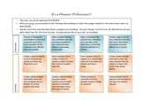 Natural Disasters Project Contracts