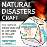 Natural Disasters Project Craft - STEM - PBL
