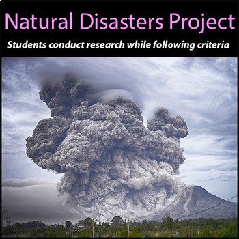 Natural Disasters Project - PBL - STEM