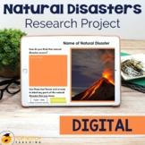 Natural Disasters Research Project