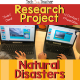 Natural Disasters Research Project and Presentation