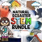 Natural Disasters STEM Activities and Natural Disasters STEM Challenges BUNDLE