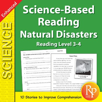 Natural Disasters: Science-Based Reading - Enhanced