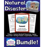 Natural Disasters Science Bundle