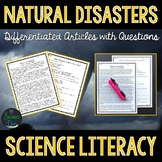 Natural Disasters - Science Literacy Article