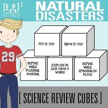 Natural Disasters Science Cubes