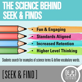 Natural Disasters Seek and Find Science Doodle Page