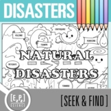 Natural Disasters Seek & Find Doodle Page
