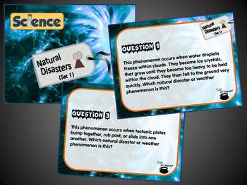 Natural Disasters, Set 1 (Task Cards) (Science)