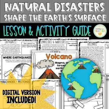 Natural Disasters {Volcanoes, Earthquakes, Tsunamis, Landslides/Mudslides}
