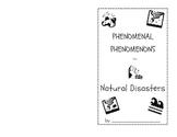 Natural Disasters Student Booklet (Earthquake,volcano,tornado,tsunami,hurricane)