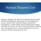 Natural Disasters Unit
