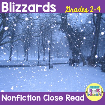 Natural Disasters:Severe Weather! Blizzards!