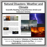 Natural Disasters: Weather and Climate Reading Article - Grade 8 and Up