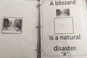Natural Disasters Work Binder
