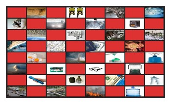 Natural Disasters and Emergency Preparedness Checker Board Game