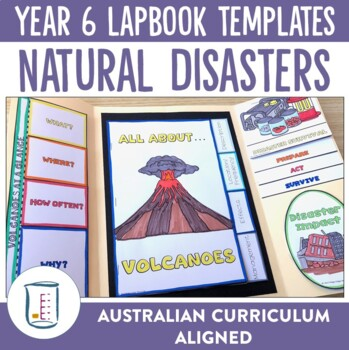 Natural Disasters and Extreme Weather Lapbook Activities