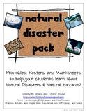 Natural Disasters and Natural Hazards Pack!